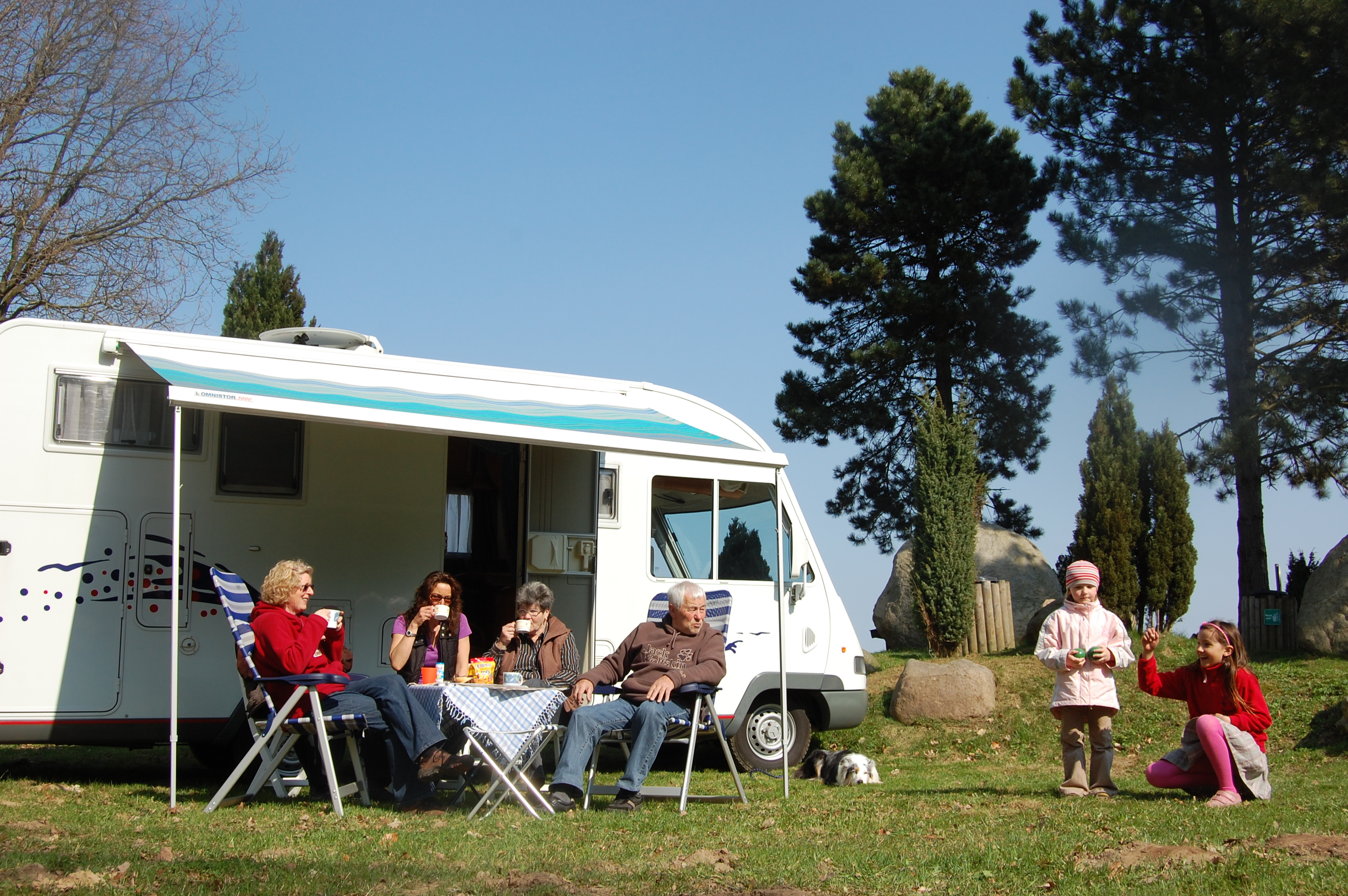 Wildpark Camping Schwarze Berge Regionalpark Rosengarten