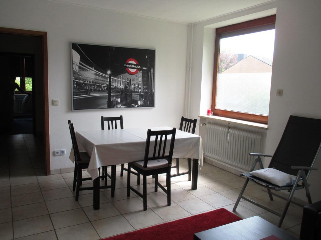 Gemütliche, kleine Ferienwohnung für 1-2 Personen im Erdgeschoss eines Mehrfamilienhauses