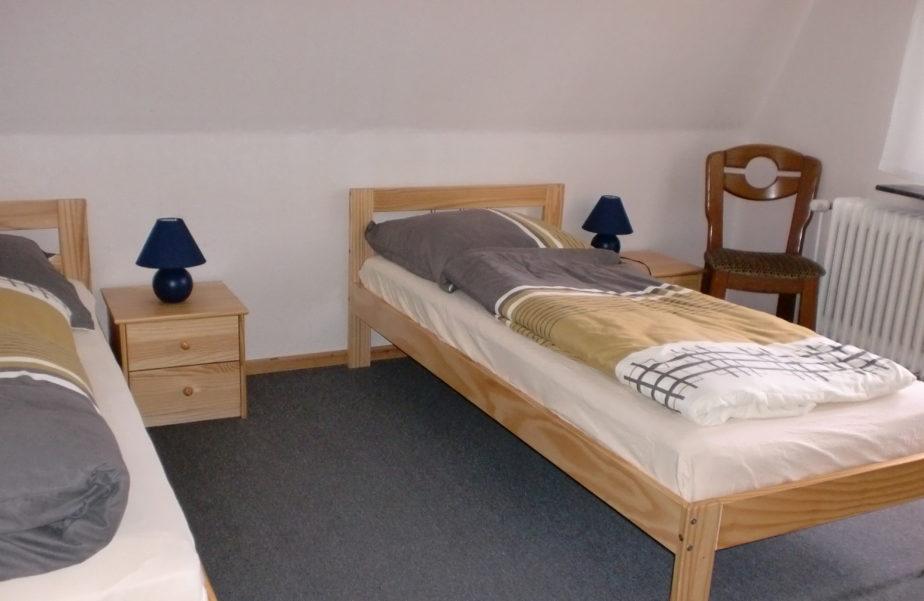 Doppelzimmer im Ferienhaus Wehlig