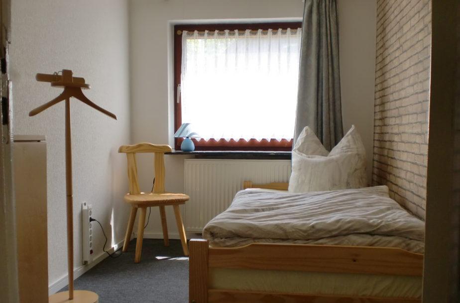 Einzelzimmer im Ferienhaus Wehlig