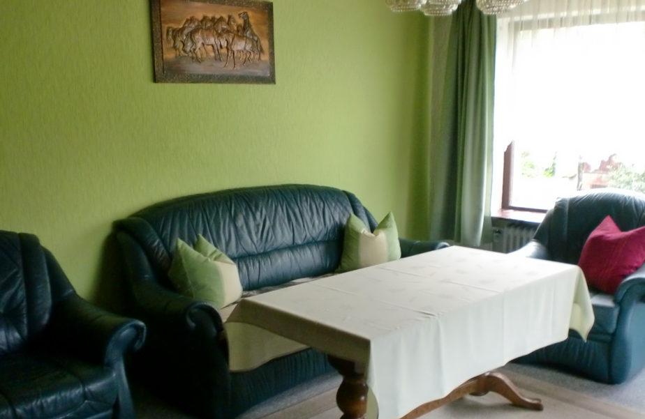 Wohnzimmer im Ferienhaus Wehlig