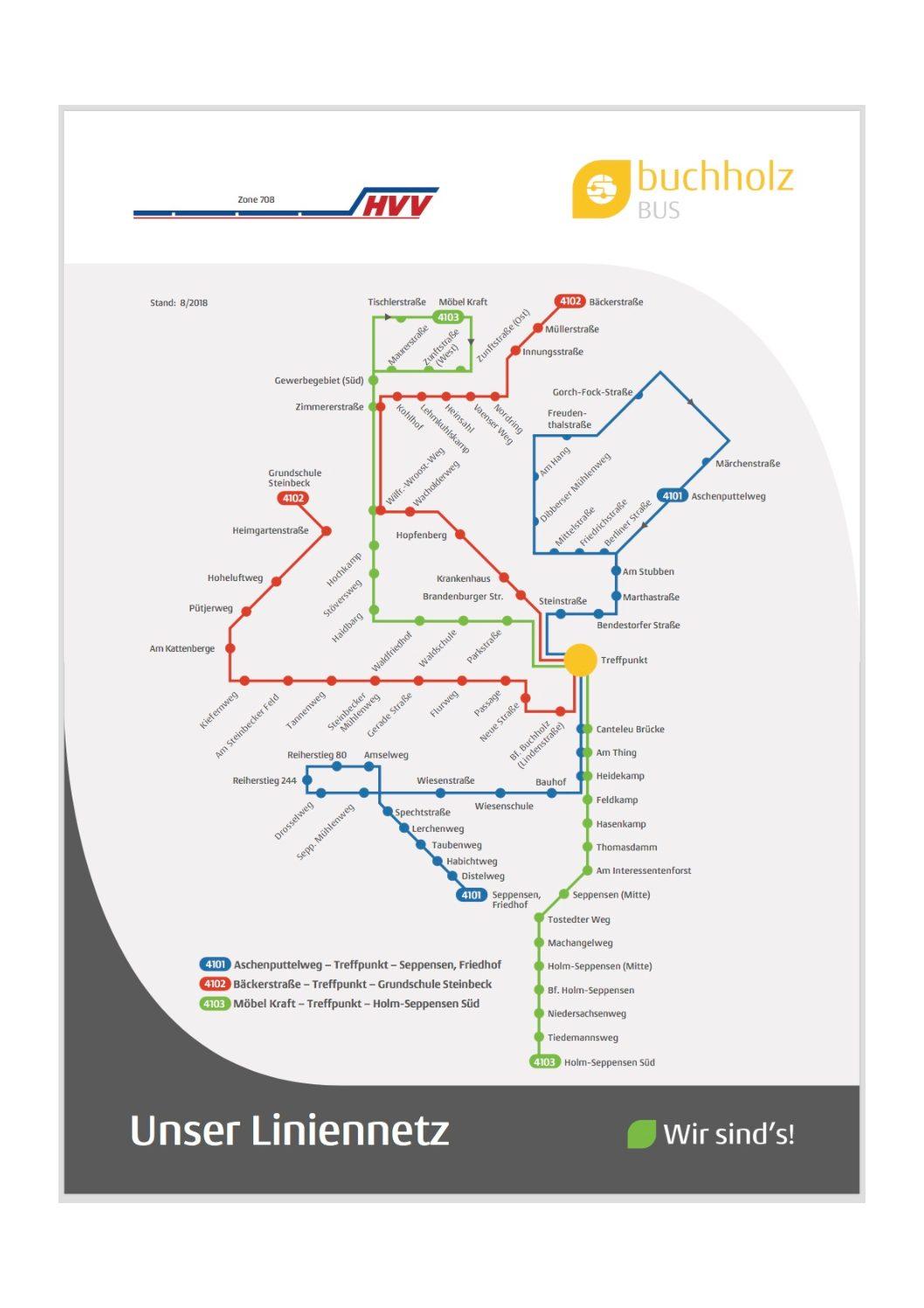 Hvv Karte Ringe.Der Buchholz Bus Regionalpark Rosengarten